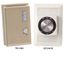 Single Setpoint Room Pneumatic Thermostats 2200 Series, TK-1000 thru TK-5000 Series